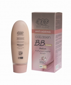 Eva Collagen 3D Effect  krem BB SPF25  Medium 50ml